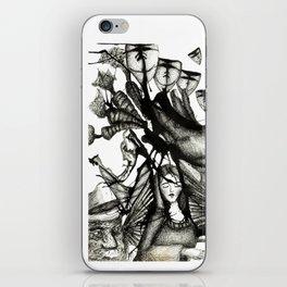La Virgen Negra iPhone Skin