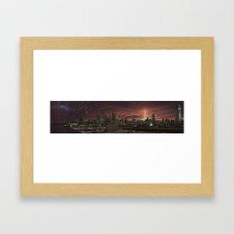 Toronto Skyline 2 Framed Art Print