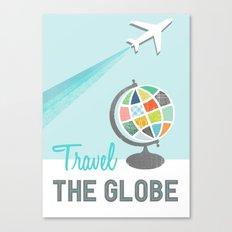 Travel the Globe Canvas Print