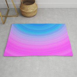 Pink & Blue Circles Rug
