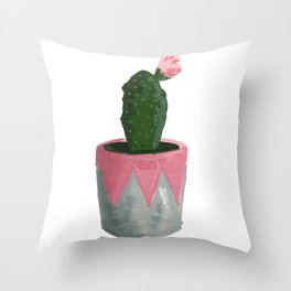 House Plants II Throw Pillow