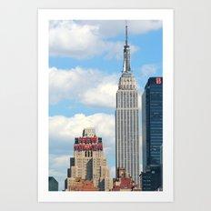 New Yorker - Empire State Art Print
