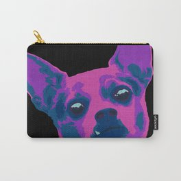 chihuahua - blk Carry-All Pouch