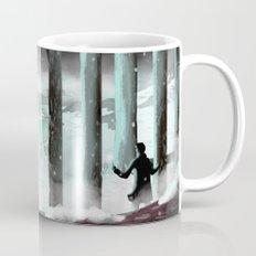 Strange lights in the woods Mug
