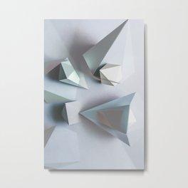Origami #1 Metal Print