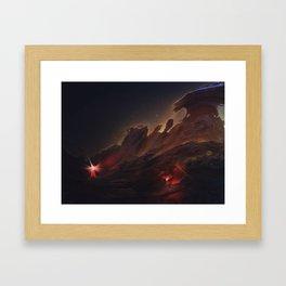 The Lost Explorer Framed Art Print