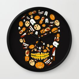 Some Treats Are Trickier Than Others Wall Clock
