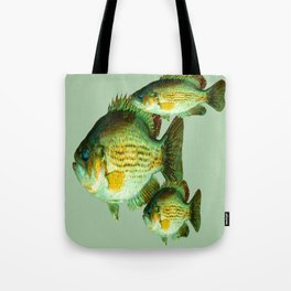 DEEP SEA FISHING GRAPHIC POSTER ART Tote Bag