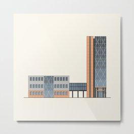Business center Metal Print