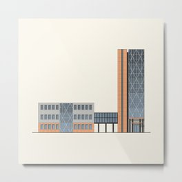 Business center Metal Print