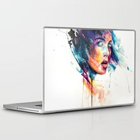 agnes Laptop & iPad Skins featuring sheets of colored glass by agnes-cecile