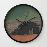 castle Wall Clocks featuring Castle by Mr and Mrs Quirynen