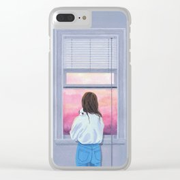 Sunday Afternoon Clear iPhone Case