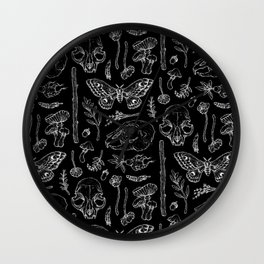 Witchcraft II [Black] Wall Clock