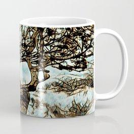 Brown Tree at Peace Coffee Mug