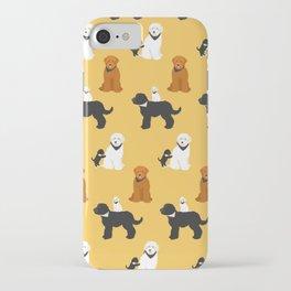 Labradoodle friends iPhone Case