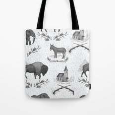 Political Toile Tote Bag