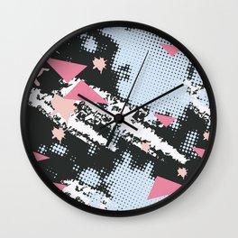 Simple pattern love Wall Clock