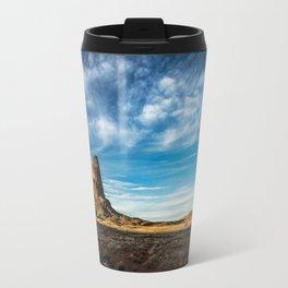 Somewhere In Time - Western Scenery of Agaltha Peak in Northern Arizona Travel Mug