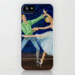 Ballet and romance #3 iPhone Case