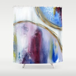 The Verge Shower Curtain
