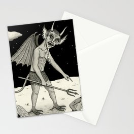 A Diabolical Act of Persuasion Stationery Cards