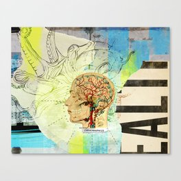 Aquiring Consciousness Canvas Print