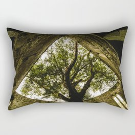 Under the Yew Rectangular Pillow