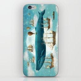 Ocean Meets Sky - revised iPhone Skin