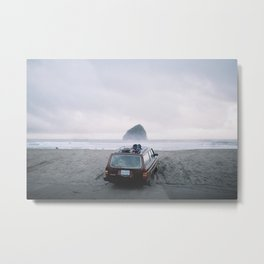 Volvo Home, OR Metal Print