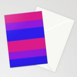 Bisexual Pride Flag v2 Stationery Cards