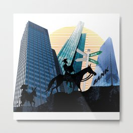 Don Quixote Now Metal Print