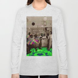 the Tempo of Bottoms up Long Sleeve T-shirt