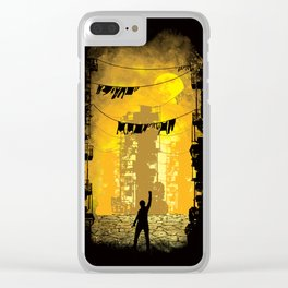 Gamers Paradise Clear iPhone Case
