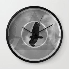 Verticrow Wall Clock