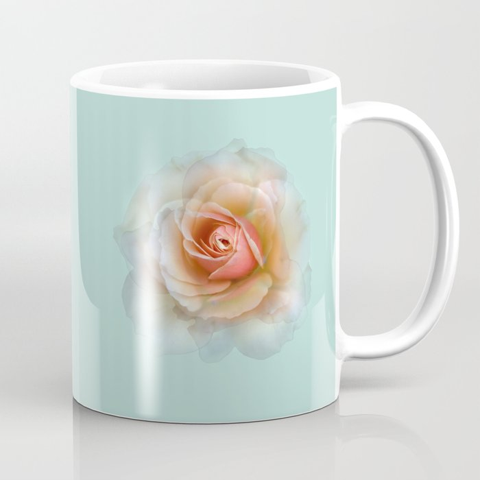 bed of roses: eau de nil ghost Coffee Mug