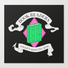 House of Book Readers Canvas Print