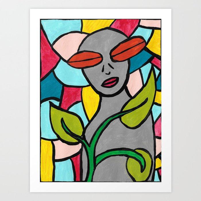 """""""Gardener"""" Art Print"""