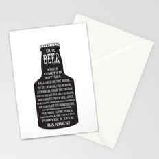 BEER PRAYER Stationery Cards
