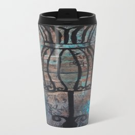 Free Form Metal Travel Mug