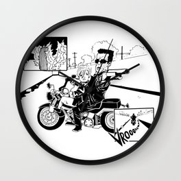The Chase Wall Clock