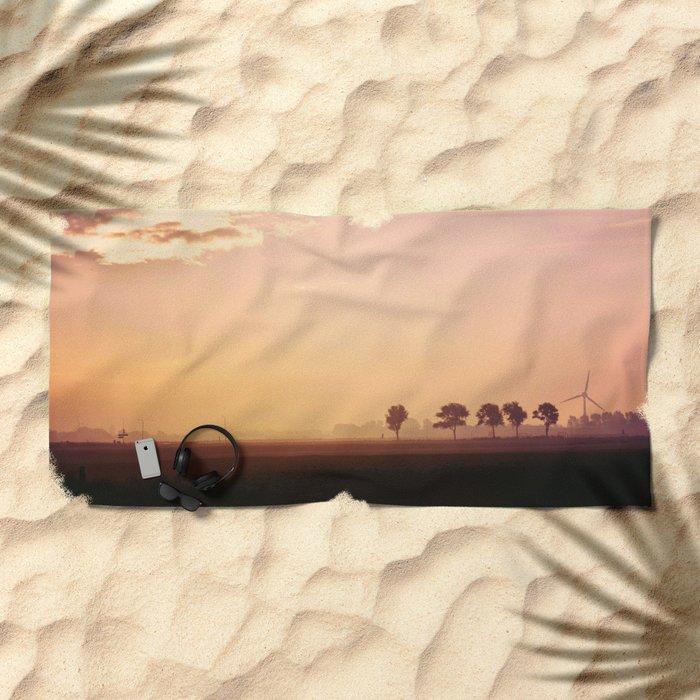 Morning View Beach Towel