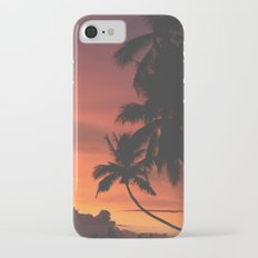Hawaii Palm Trees Sunset iPhone 7 Slim Case