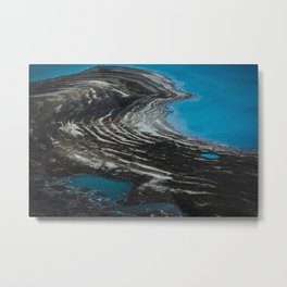 Shrinking of the Dead Sea Metal Print