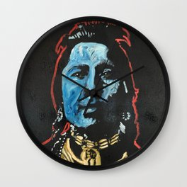 Chief Thundercloud Wall Clock