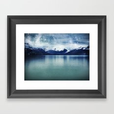 Fjord of Anchorage Framed Art Print