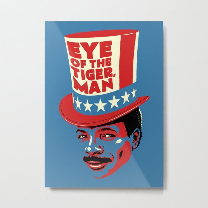 Eye Of The Tiger, Man Metal Print