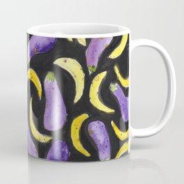 Eggplant & Bananas Coffee Mug