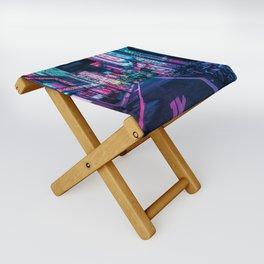 A Neon Wonderland called Tokyo Folding Stool