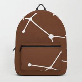Gemini (White & Brown) Backpack